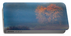 Falltime In The Meadow Portable Battery Charger