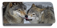 Portable Battery Charger featuring the photograph Familiar by Tony Beck