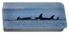 Portable Battery Charger featuring the photograph Family Life's Greatest Blessing - Wildlife Art by Jordan Blackstone