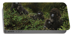 Family Of Gorillas Portable Battery Charger