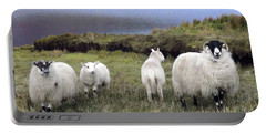 Family Of Sheep Portable Battery Charger
