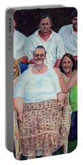 Family Portrait Portable Battery Charger by Ruanna Sion Shadd a'Dann'l Yoder