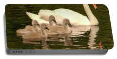 Family Swan  Portable Battery Charger