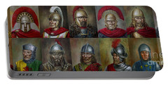 Famous Warriors In History Portable Battery Charger