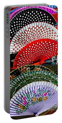 Portable Battery Charger featuring the photograph Fan-tastic by Sue Melvin