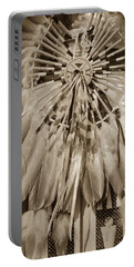 Fancy Dancer Male Sepia Portable Battery Charger