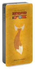 Fantastic Mr. Fox Portable Battery Charger by Ayse Deniz