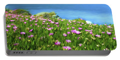 Fantasy Floral Art Portable Battery Charger by Scott Cameron
