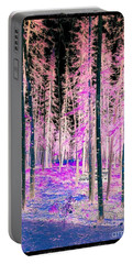 Fantasy Forest Portable Battery Charger by Linda Bianic