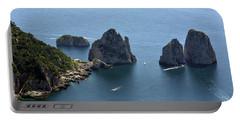 Faraglioni A Capri  Portable Battery Charger