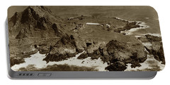 Farallon Island Lighthouse Pacific Ocean April 4, 1924 Portable Battery Charger