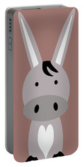 Farm Animals - Donkey Portable Battery Charger