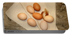 Farm Fresh Eggs Portable Battery Charger