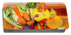Farm Fresh Produce Portable Battery Charger by Jorgo Photography - Wall Art Gallery