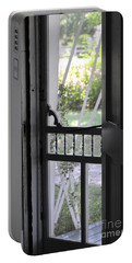 Farm House Screen Door Portable Battery Charger