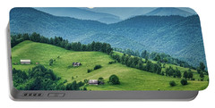 Farm In The Mountains - Romania Portable Battery Charger
