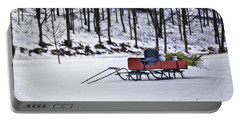 Farm Sleigh Portable Battery Charger