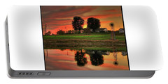 Farm Sunset Portable Battery Charger
