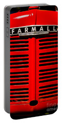Farmall Grill Portable Battery Charger by Sherman Perry