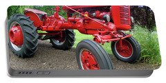 Farmall Portable Battery Charger by Susan Lafleur