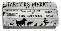 Farmers Market-b Portable Battery Charger