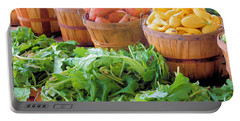 Farmers Market Portable Battery Charger by Kristin Elmquist
