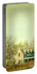 Portable Battery Charger featuring the photograph Farmhouse In Arkansas by Jill Battaglia