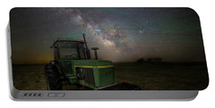 Portable Battery Charger featuring the photograph Farming The Rift 7 by Aaron J Groen