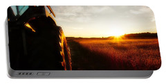 Farming Until Sunset Portable Battery Charger