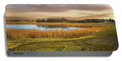 Farmland Pond Portable Battery Charger