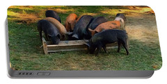 Farmyard Pigs Portable Battery Charger