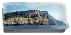 Faro Lighthouse - Ise Of Capri Portable Battery Charger