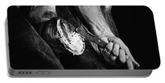 Farrier At Work On Horses Hoof Portable Battery Charger