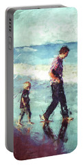 Father And Son Portable Battery Charger
