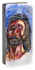Father Forgive Them Portable Battery Charger