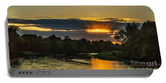 Father's Day Sunset Portable Battery Charger