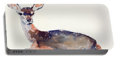 Fawn Portable Battery Charger by Mark Adlington