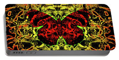 Fear Of The Red Admirals Portable Battery Charger