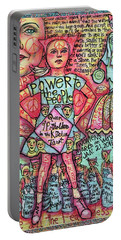 Fearless Girls Portable Battery Charger