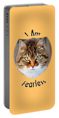 Fearless Portable Battery Charger by Judi Saunders