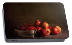 Feast Of Fruits Portable Battery Charger by Tom Mc Nemar