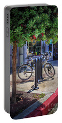 Feather Bicycle Portable Battery Charger by Craig J Satterlee
