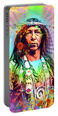 Feather Chief Portable Battery Charger by Gary Grayson