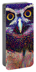 Feather Jeweled Portable Battery Charger by Geri Glavis