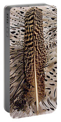 Feather Portable Battery Charger by Nancy Kane Chapman