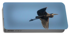 Portable Battery Charger featuring the photograph Feathering The Nest by David Bearden