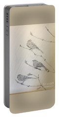Feathers Friends Portable Battery Charger