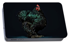 Feathers Portable Battery Charger by John Towner