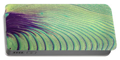 Feathery Ripples Portable Battery Charger