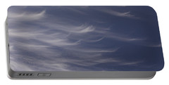 Portable Battery Charger featuring the photograph Feathery Sky by Shari Jardina